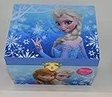 Frozen Elsa and Anna Music Jewelry Box, Blue
