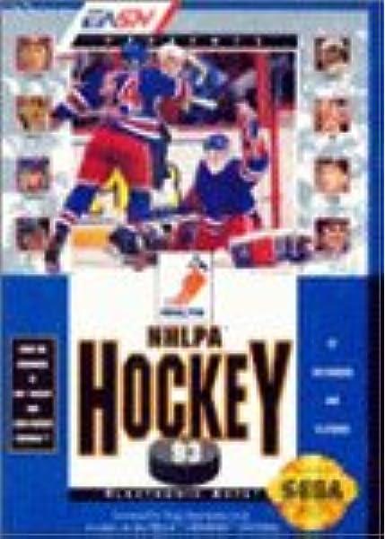 Amazon Com Nhl Hockey 94 Sega Genesis Video Games