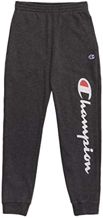 Champion Boys Sweatpant Heritage Collection Slim Fit Brushed Fleece Big and Little Boys Kids 2