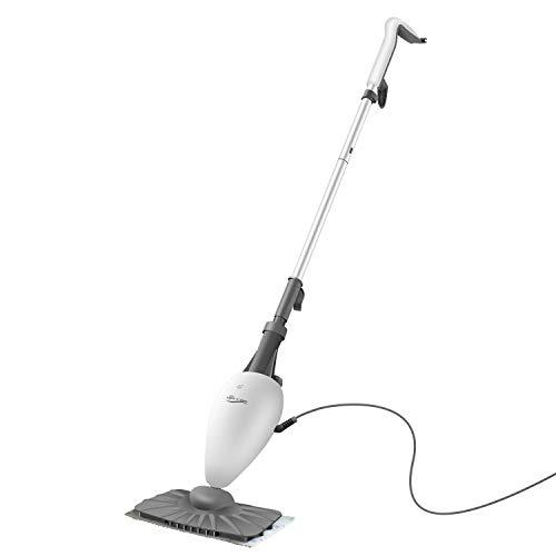 LIGHT 'N' EASY Steam Mop Floor Steamer for Laminate Floors with Swivel Steam Mops Head for Tile Steam Cleaner,Hardwood Floor Steamers,Carpet Steamer,wood floor steam cleaner,5 in 1 floor steam cleaner