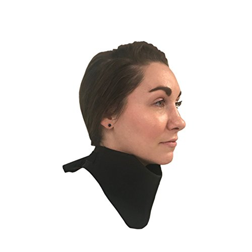 "Thyroid Shield 25"" ✮ .5mm Protection Collar ✮ Thyroid Collar Protection for Medical, Dental X-Ray and Mammography ✮ Black Rip Stop"
