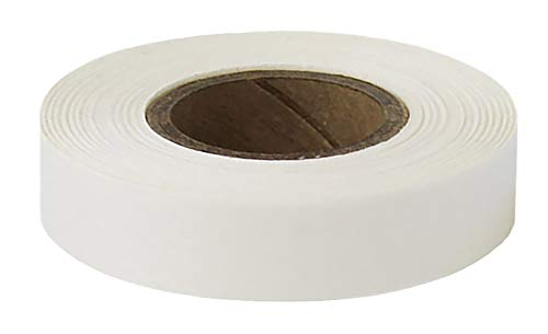 ChromaLabel 1/2 inch Color-Code Labeling Tape | 500 inch Roll (White)