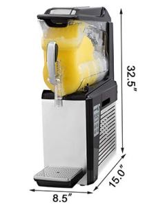 VBENLEM-110V-Slushy-Machine-10L-Margarita-Frozen-Drink-Maker-500W-Automatic-Clean-Day-and-Night-Modes-for-Supermarkets-Cafes-Restaurants-Snack-Bar-Sliver