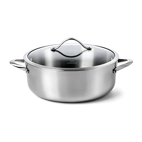Calphalon Contemporary Stainless Steel Cookware, Dutch Oven, 8-quart
