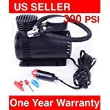 C 300 PSI 12V Car Pump Auto Portable Tire Inflator Mini Air Compressor w/gauge by META_AOT