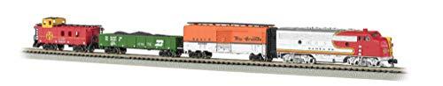 Bachmann Trains - Super Chief Ready To Run Electric Train Set - N Scale