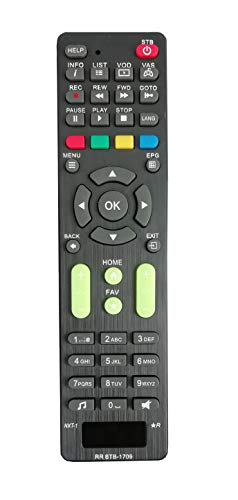 LipiWorld® STB-1709 Remote Control Compatible for NXT Digital Set Top Box 67