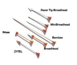 Cold Steel Razor Tip Broadhead Dart B625BR (40 Pack)
