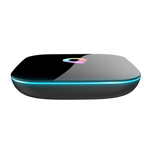 Q Box Android TV Box Android 5.1 HD Quad-core A53 [2GB/16GB/4K] 3D 2.4G+5G WiFi 1080P-Smart TV Box-Mini Kitty