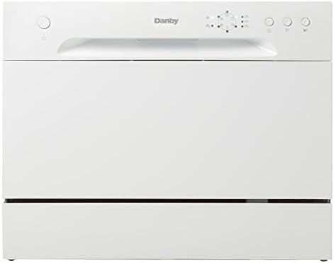 Danby (New Model DDW621WDB Countertop Dishwasher, White (Fivе Расk)