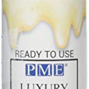 PME White Chocolate Luxury Cake Drip, 150 g 31bhnaRC04L