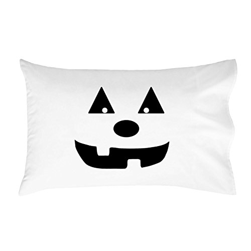 Oh, Susannah Halloween Pumpkin Standard Pillowcase (1 20x30 inch, Black)