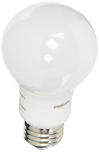 Philips B01AHLY6WO 4pk 8.5W=60W LED Soft White A19 Bulbs
