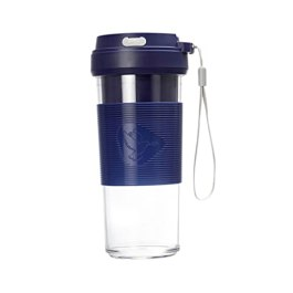 Pigeon Blendo USB rechargeable Personal Blender for Smoothies, Shakes with Juicer Cup Jar , 330 ml, Blue, Medium…