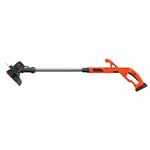BLACK+DECKER LST201 20V MAX Lithium Ion String Trimmer/Edger, 10""