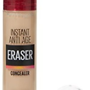 Maybelline Concealer Instant Anti Age Eraser Eye Concealer, Dark Circles and Blemish Concealer, Ultra Blendable Formula 01 Light 31cQHGHpnqL