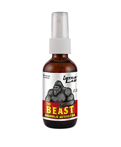 UltraLab The Beast Anabolic Activator, Oral Spray Formula, 2 Ounces