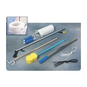 Complete Hip Replacement Kit Hip Replacement Kit without Toilet Seat with 32' (81cm) Reacher