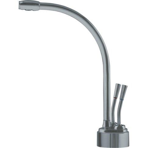 Franke LB9280 Logik Little Butler Two Handle Under Sink Hot and Cold Water Filtration Faucet, Satin Nickel