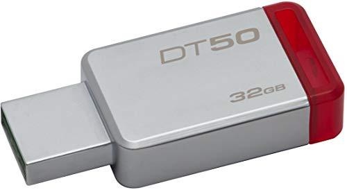 Kingston DataTraveler 50 32GB USB 3.0 Flash Drive (DT50/32GBIN), Grey 1