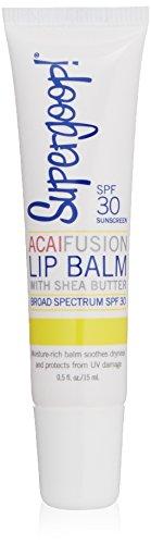 Supergoop! Fusion Lip Balm SPF 30, Acai, 0.5 fl.oz.