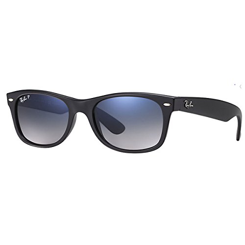 31cnmaiSKvL Classic Wayfarer sunglasses with plastic frames featuring etched logoing at left lens and arms Dimensions 55mm-18mm-145mm It is square shape