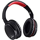 AUSDOM ANC7 Active Noise Cancelling Wireless Headphones Over Ear,Bluetooth Headset AptX Hi-Fi Sound Headphones with Microphone/Carrying Case for iPhone/Android/PC/TV Devices/Airplane