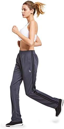 BALEAF Women's Track Pants Athletic Sports Sweat Pants Open Leg Jogger Sweatpants Zippered Pockets Lounge 6