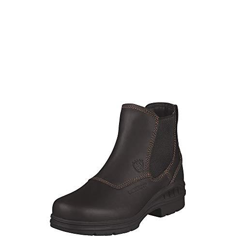 Ariat Women's Barnyard Twin Gore H2O Barn Boot, Dark Brown, 8.5 M US