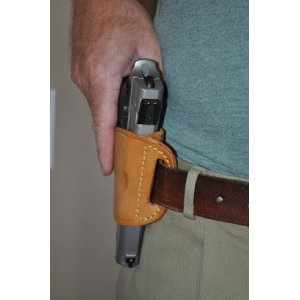 Pro-Tech Outdoors Tan Leather Side Holster for Kel-Tec PMR 30