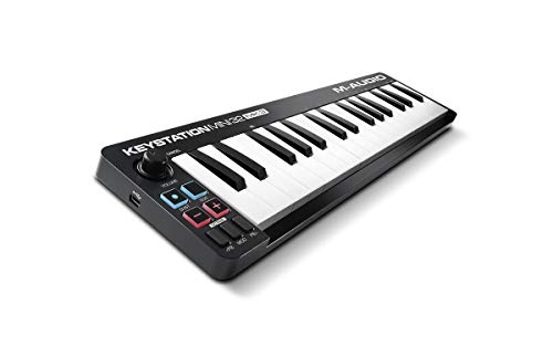 M-Audio Keystation Mini 32 MK3   Ultra-Portable Mini USB MIDI Keyboard Controller With ProTools First   M-Audio Edition and Xpand!2 by AIR Music Tech