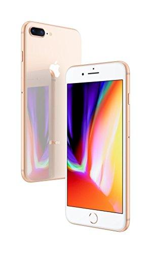 Apple iPhone 8 Plus, Fully Unlocked, 64 GB - Gold (Renewed)
