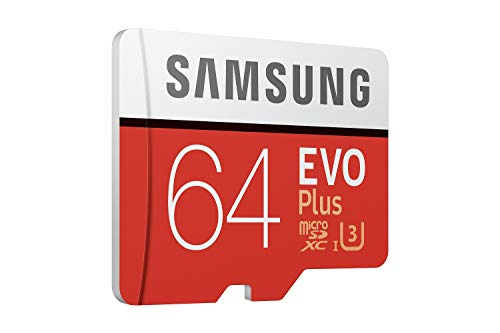 Samsung EVO Plus 64GB microSDXC UHS-I U3 100MB/s Full HD & 4K UHD Memory Card with Adapter (MB-MC64GA) 189