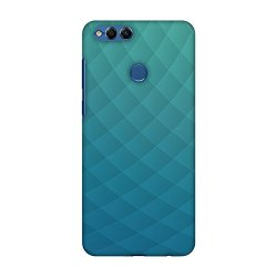AMZER Slim Fit Handcrafted Designer Printed Hard Shell Case Back Cover Skin for Huawei Honor 7X - Intersections 4 HD Color, Ultra Light Back Case