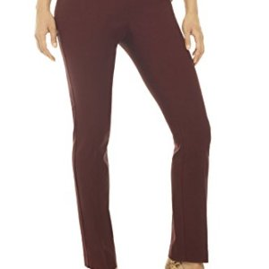 3c1167602c0b Rekucci Women's Ease in to Comfort Straight Leg Pant with Tummy Control