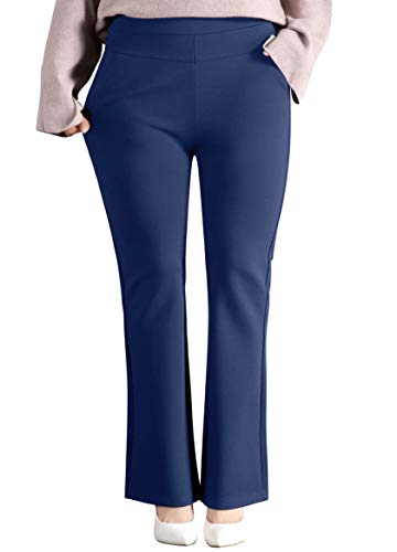 ABCWOO Women's Plus Size Dressy Work Pants for Office,Slimming and Stretchy 16 Fashion Online Shop gifts for her gifts for him womens full figure