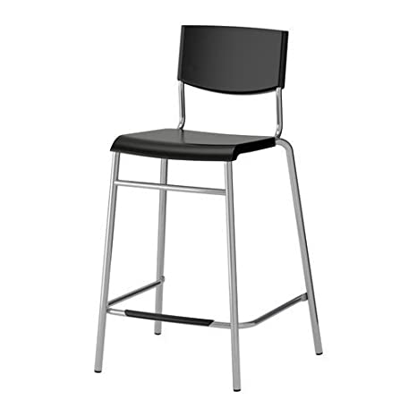 Ikea Tabouret De Bar Stig Hauteur 63cm Avec Repose Pieds Empilable