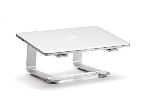 31eMugqvLSL - Griffin Elevator Computer Laptop Stand - Silver/Clear