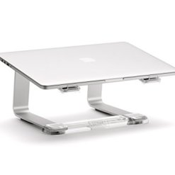 31eMugqvLSL - Griffin Elevator Computer Laptop Stand - Silver/Clear