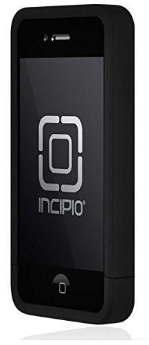Incipio iPhone 4/4S Hard Shell Case w/ 3-Pack Screen Protectors & Viewing Stand - Carrying Case - Black/Black