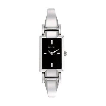 Bulova Women's 96L138 Stainless Steel Bangle Watch