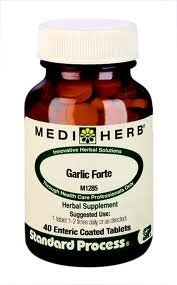 Garlic Forte 40 Enteric Coated Tabs by Standard Process / Mediherb