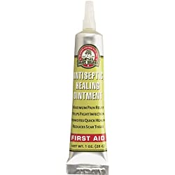Brave Soldier Antiseptic Quick Healing Ointment with Tea Tree Oil,1 Ounce