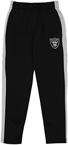 Outerstuff NFL Youth Boys (8-20) Side Stripe Slim Fit Performance Pant, Team Variation 2