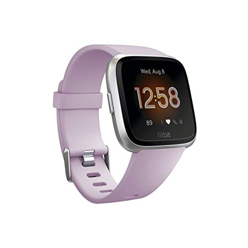 Fitbit Versa Lite Smartwatch, One Size (S & L Bands Included)