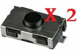 Switch-bouton-cl-tlcommande-plip-Peugeot-206-107-307-406-Citroen-C3-C2-TOPALLI