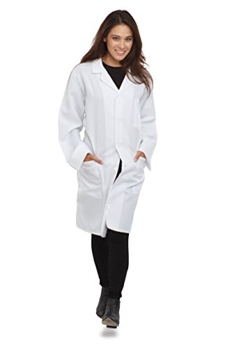 Costume up America Adults Unisex Physician Lab Coat, White, Massive  scrubs Store 31fVoi4ddXL