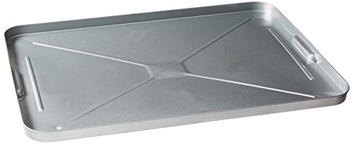 Plews LubriMatic 75-755 Galvanized Steel Automotive Drip Pan/Tray - Protects Driveways, Garages, and Storage Buildings from Oil and Transmission Fluid Leaks