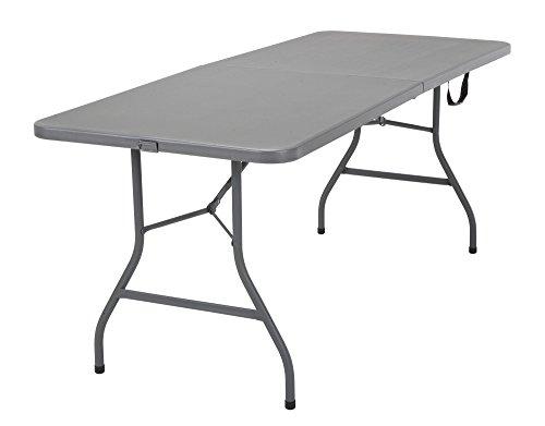 COSCO Signature Centerfold Table, Gray