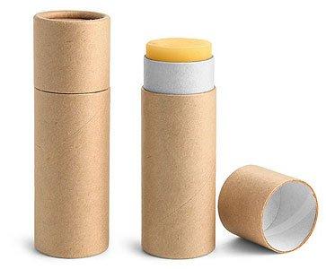Lip Balm Tubes With Caps